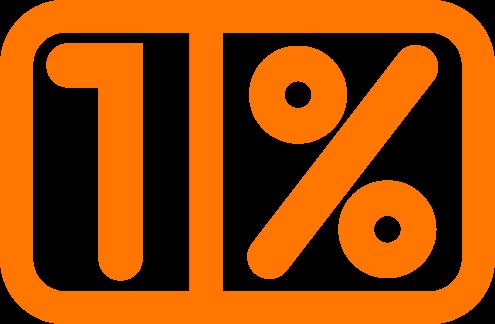 1-procent